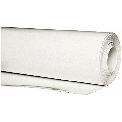 "PVC Jacketing .020 x 48"" x 100' Roll, White"