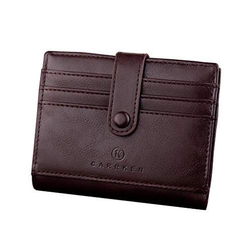Wallet For Men,PAQOZ Coin Purse Clutch Hasp Retro Short Wallet package multi-card holder