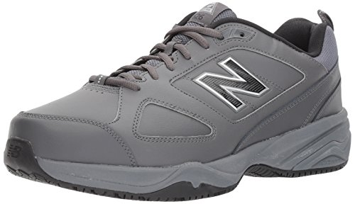New Balance Men's MID626v2 Work Training Shoe, Grey/Black, 14 6E US