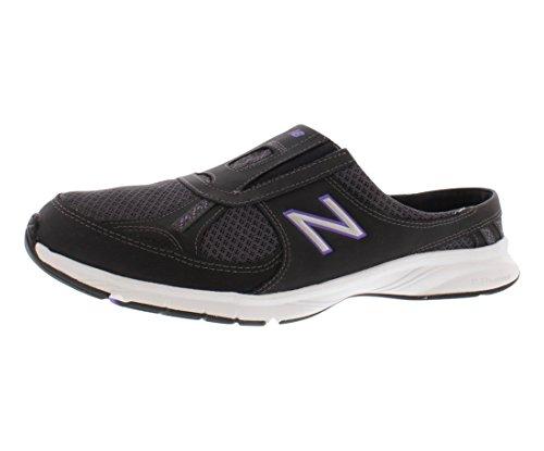 New Balance Women's WW520 Walking Shoe,Black/Purple,5.5 B US (New Balance Clogs)