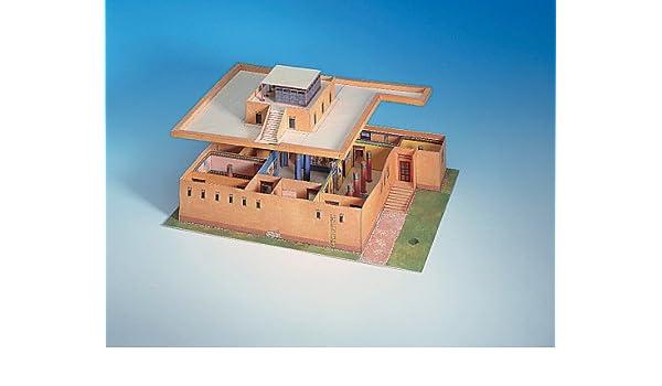 Schreiber-Bogen Egyptian House Card Model