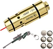 9mm /.45 ACP Laser Bullet Dry Fire Training,Dry Fire Trainer-Integrated Snap Cap with O-Rings for Dry Fire Tra