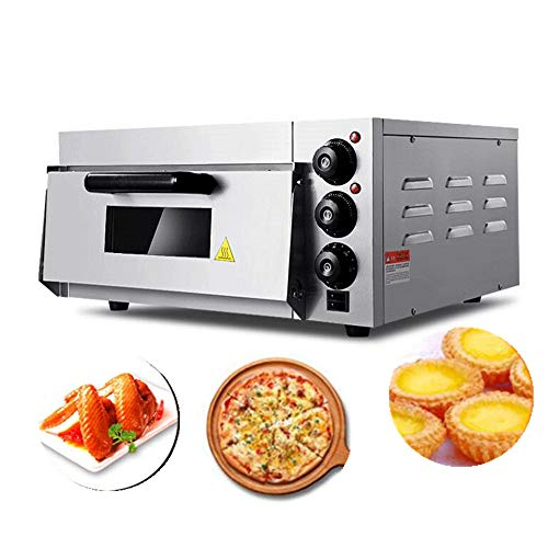 JIAWANSHUN Commercial Electric Pizza Oven With Timer for Making Bread Cake and Pizza 110V 2KW by JIAWANSHUN (Image #7)