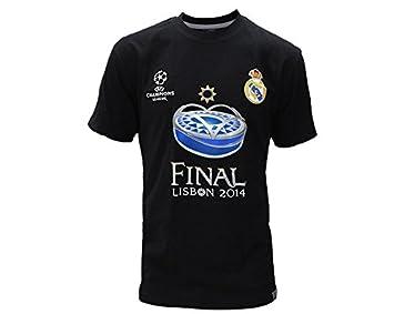 2605c1da5cc7f Sin marca Camiseta Final Champions Real Madrid  Amazon.es  Deportes y aire  libre