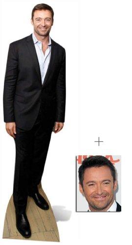 Fan Pack - Hugh Jackman Lifesize Cardboard Cutout / Standee - Includes 8x10 (20x25cm) Star Photo -