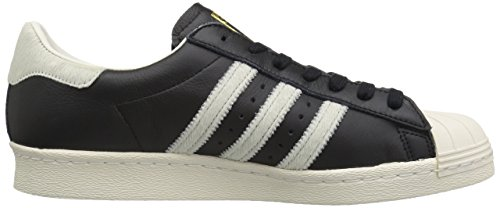 Adidas Originali Mens Superstar 80s Cblack, Ftwwht, Goldmt