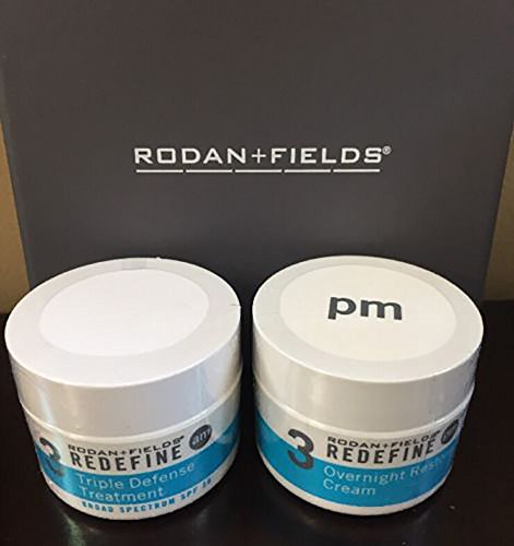 Rodan + Fields Redefine Triple Defense AM & Overnight Restorative Cream Bundle by Rodan + Fields