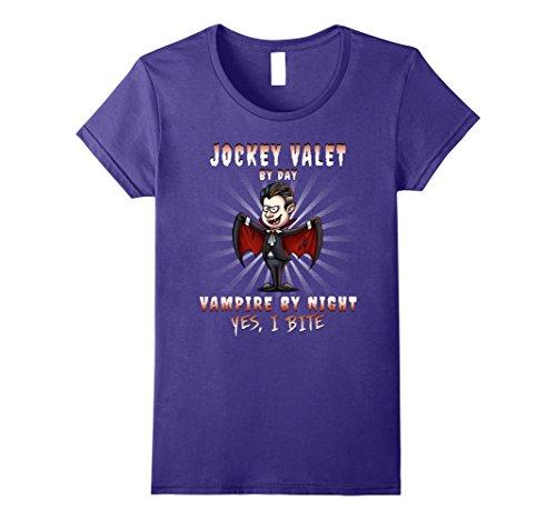Womens Jockey Valet Halloween Party Costume Large Purple
