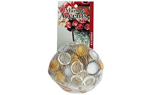 (Panacea Decorative Glass Gems 12oz Silver/Gold)