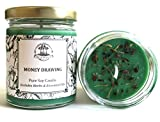 Art of the Root Money Drawing 8 oz Soy Spell Candle Wealth, Financial Security, Propserity (Wiccan, Pagan, Hoodoo, Magick)