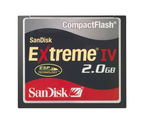 SanDisk 2 GB Extreme IV CompactFlash Card ( SDCFX4-2048-901 ) by SanDisk