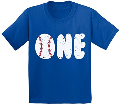 Awkward Styles Baseball Birthday Toddler T Shirts Infant T Shirts First Birthday Party Baby Blue 18M