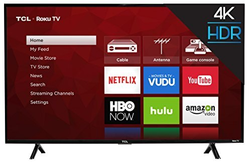TCL 43S403 43 4K UHD HDR Smart Roku LED TV