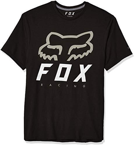 Fox Men's Heritage FORGER Short Sleeve TECH T-Shirt, Black, L