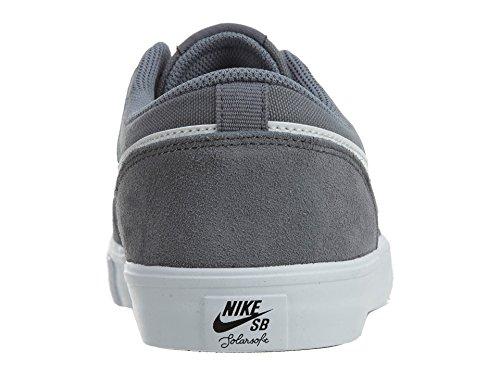 41 Gris Solar Bianco EU Grigio SB de Chaussures Skateboard Portmore Scuro Nike Homme Nero II 67wxaaZtq