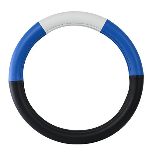 18 inch blue steering wheel cover - 3