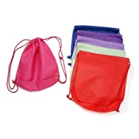 WGI Assorted Non Woven Sports Bag (6 Assorted Colors) (6 Bags)