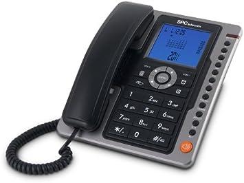 SPC Office Pro - Teléfono fijo (identificación de llamadas, gran ...