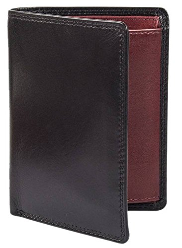 Tall Dents Dents Smooth Leather Claret Wallet Red Black Mens Mens dxwXHq7w