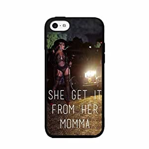 She Get it From Her Mama- TPU RUBBER SILICONE Phone Case Back Cover iPhone 5c wangjiang maoyi