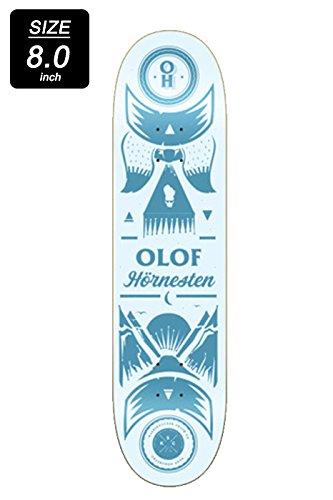 項目繊毛割り当てるKALEIDOSCOPE SKATEBOARDS【カレイドスコープスケートボード】PRO MODEL | OLOF HORNESTEN 8.0 デッキ スケートボード