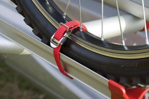 2er Set Fiamma Strip Gurte Für Carry Bike Fahrradträger 2 Stück Rot Auto
