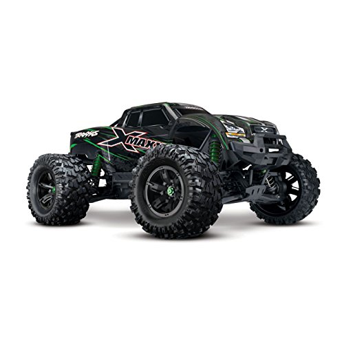 Traxxas 8S X-Maxx 4WD Brushless Electric Monster RTR Truck, (E-maxx Brushless)