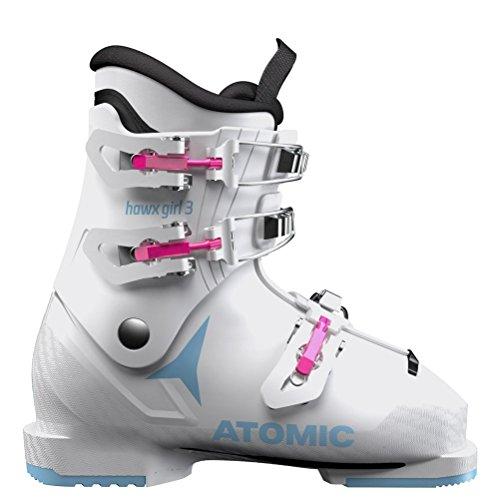 irls Ski Boots 2019-21.5/White-Denim Blue ()