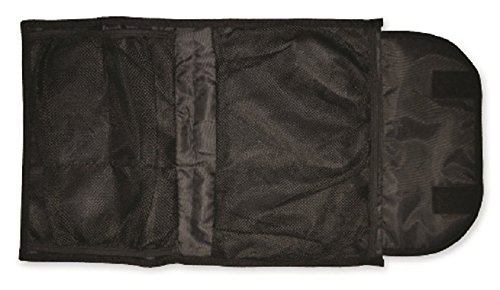 (Reusch Soccer Multi Compartment Goalkeeper Glove Bag, Black, 19