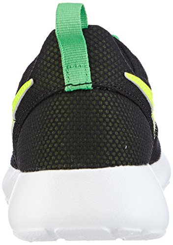 Nike Rosherun, Chaussures de Running Mixte Enfant Noir (Black/Volt/White/Light Green Spark 016)