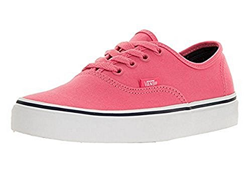 (Vans Mens U Authentic Camelia Rose Parisian Night Pink Size)