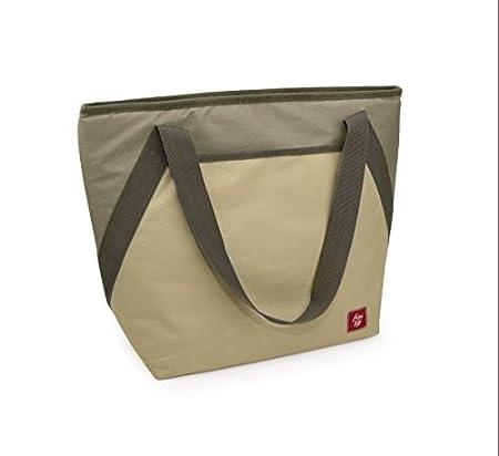 IRIS Bolsa Nevera Shoulder Cooler Bag 18L, Poliéster, Arena ...