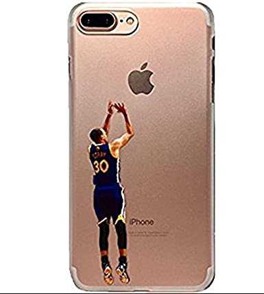 reputable site 5f9e6 b742e Steph Curry iPhone 7 plus clear phone protector: Amazon.ca: Cell ...