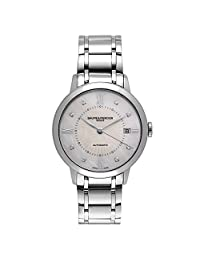 Baume Et Mercier Classima Automatic Mother of Pearl Dial Stainless Steel Ladies Watch 10221