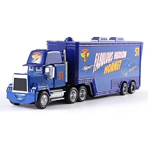 Diecasts & Toy Vehicles - Disney Pixar Car 3 Truck Kingdom Mackay Blue No. 51 Truck 1:55 Die Cast Metal Alloy Model Toy Car Children's Gifts - by LINAE - ()