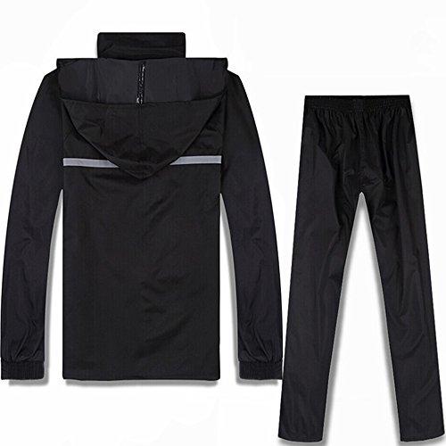 Pantaloni E Fodera Giacca Per Xxxxl Traspirante Con Impermeabile Uomo Doppia Adulto Antipioggia dimensione Donna EEq4nwxT