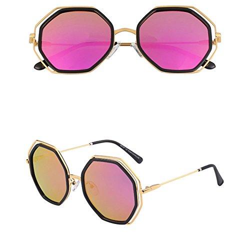 2 Coreanas polarizadas Sol DT de Delgadas Femeninas 2 Color Sol Gafas Gafas Gafas de qWwzTxOZw