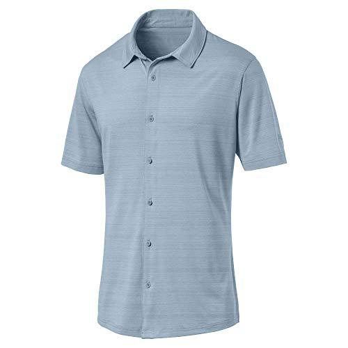 Puma Golf Men's 2019 Breezer Shirt, Ashley Blue, XX-Large ()