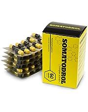 Somatodrol voedingssupplementen, capsules, ter verhoging van de testosteron- en groeihormoonspiegel, voor snelle spieropbouw, voor snelle vetverbranding, zonder steroïden, zonder bijwerkingen