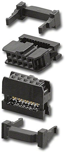 PAN PACIFIC IDS-10 10 Pin Dual Row Dip IDS Polarized Socket (5PC Pack)