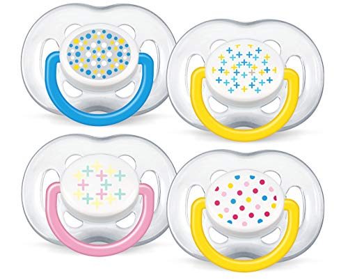 Philips Avent BPA Free Freeflow Pacifier, Colors