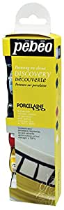 Pebeo Porcelaine 150 China Paint, Discovery Collection of 6 Assorted 20-Milliliter Colors