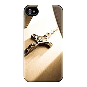 High Quality Cross Tpu Case For Iphone 4/4s