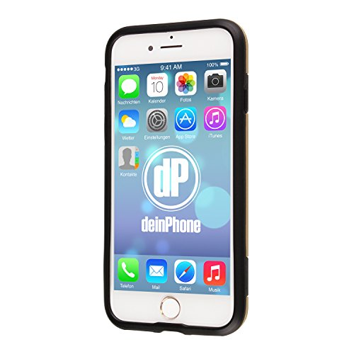 deinphone Apple iPhone 7coques rigides Shock Proof Armor or