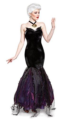 Disguise Women's Plus Size Ursula Prestige Adult Costume, Black, X-Large