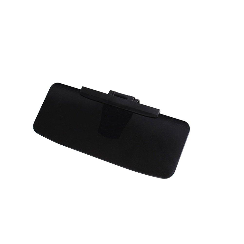 WINOMO Alette Parasole Visiera Antiabbagliante Antiriflesso Extender per Auto (Nero) KHW171331OAIA75353
