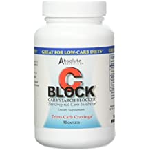 Absolute Nutrition Carb Blocker for Weight Loss, CBlock, 90 Caplets
