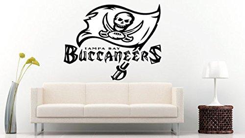 (Tampa Bay Buccaneers NFL Logo Sticker Vinyl Decal Wall Decor Room Garage Original Unique Art 145 Decal Sticker)