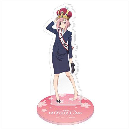 Sakura quest Big acrylic figure