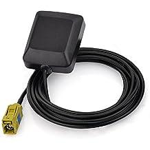 Eightwood Mini Satellite Radio Antenna Fakra K Curry Female Connector for Sirius XM Car Vehicle Trucks RV HD Hi-Fi Radio Stereo Receiver Tuner 2320-2345MHz